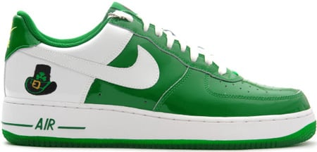 premium selection 6a70f 7bfb2 Nike Air Force 1 (Ones) Low St. Patricks Day 2006 Pine Green