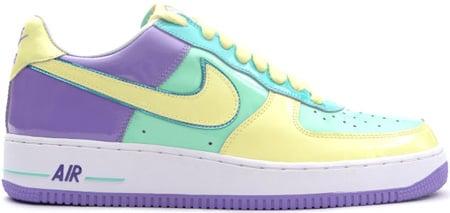 Nike Air Force 1 (Ones) Low Easter 2006 Medium Mint / Lemon Frost