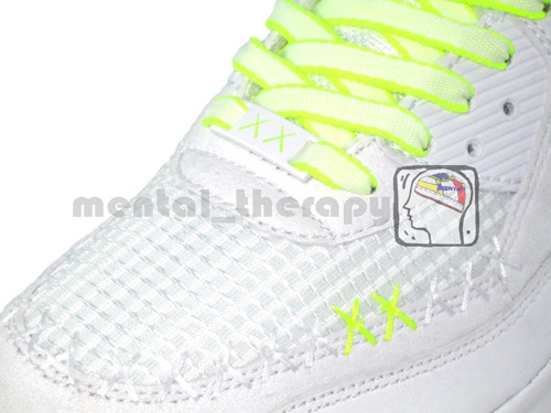 Nike Air Max 90 x Kaws Sample Detailed Look