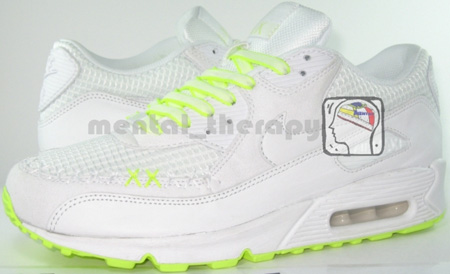 Nike Air Max 90 x Kaws Sample Detailed Look