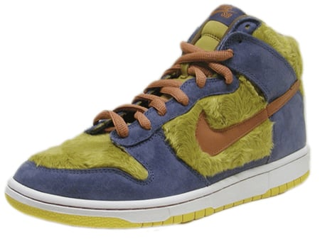 Best Halloween Shoes - Nike Dunk High SB Papa Bear (2nd Best)