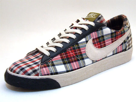 Nike Womens Blazer Low - Plaid Pack