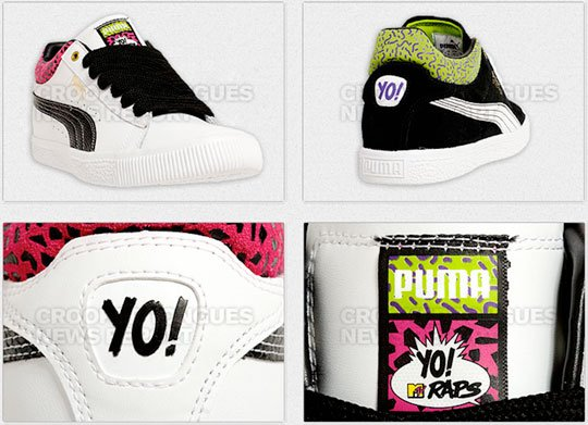 PUMA YO! MTV Raps Stepper Preview