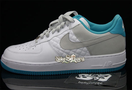 Womens Quilted Air Force 1