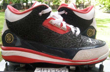 Rare Air Wednesdays: Air Jordan 3 (III) PE Andrew Jones Cleats