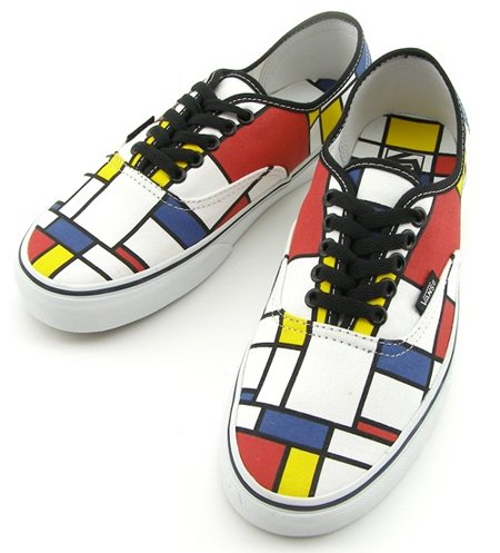 Vans Authentic - Piet Mondrian