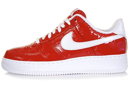nike slam jam air force optical red