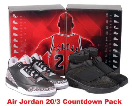Release Date Reminder: Air Jordan 3 (III) - 20 (XX) Countdown Pack