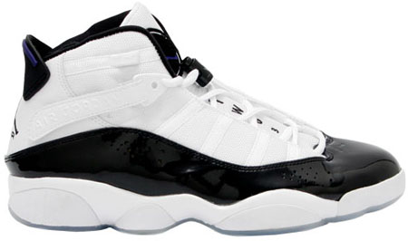 Release Date Reminder: Air Jordan 6IX (Six) Rings White / Dark Concord - Black