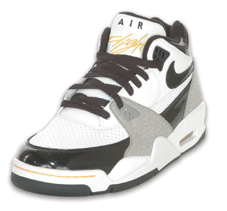 Nike Air Flight 89 - White / Black / Maize / Flint