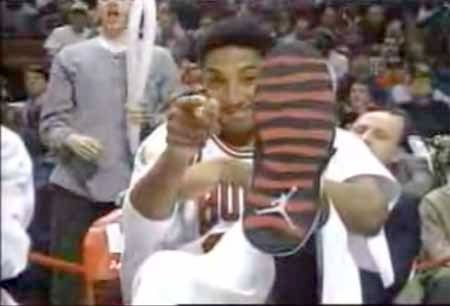Scottie Pippen Air Jordan 10 - X - Chicago