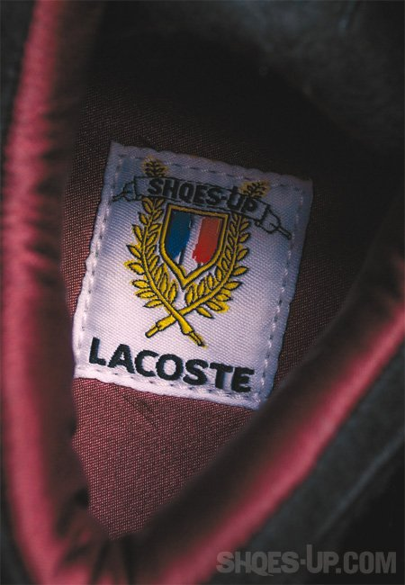 shoes up lacoste