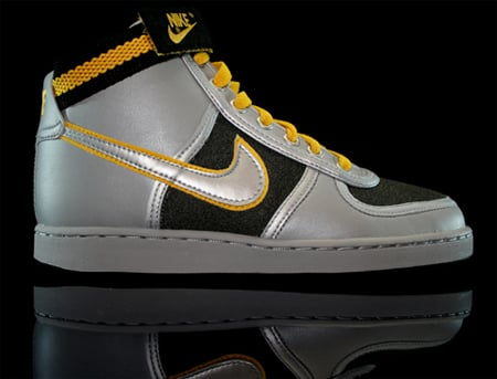 Nike Womens Vandal High - Silver / Yellow