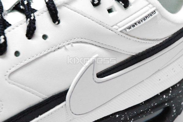 Nike Air Classic BW - White / White - Dark Obsidian