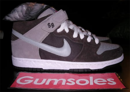 Nike Dunk Mid Pro SB Sample - Capuccino / Silver