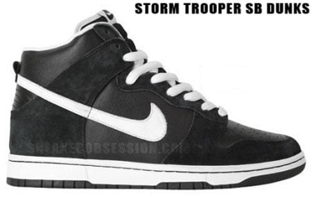 storm trooper dunk nike sb