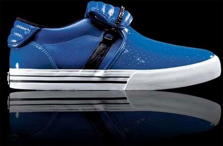 Supra Cuban - Blue Patent Leather
