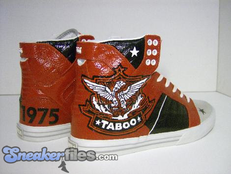 King of Sneakers Custom Footwear x Taboo - Tab Magnetic Supra Skytop