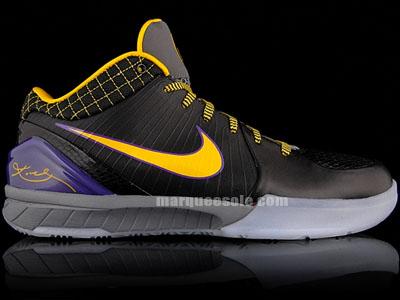 new style 1f82d 148da Nike Zoom Kobe 4 West Coast White Purple