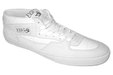 vans half cab LX croc (white)