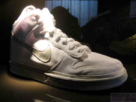Nike Dunk High Nylon - White / Grey | Spring 2009