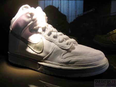 Nike Dunk High Nylon - White / Grey | Spring 2009