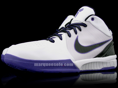 Nike Zoom Kobe 4 West Coast White Purple
