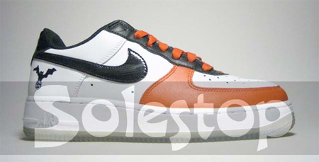 Best Halloween Shoes - Nike Womens Air Force 1 Halloween (6th Best)