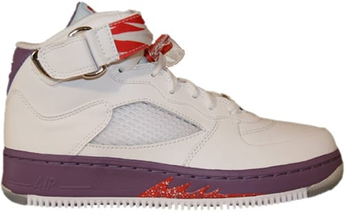 Air Jordan Fusion 5 (AJF 5) Kids (GS) White / Sunburst - Grey Violet