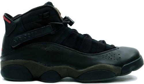 Air Jordan 6 Rings Six Rings Army Black White Dark Army