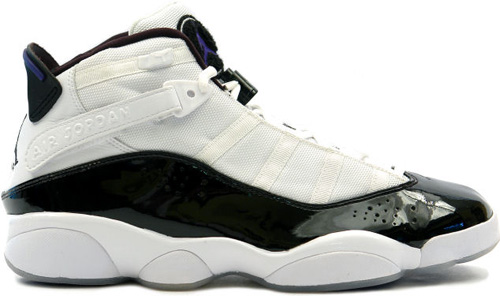 Air Jordan 6 Rings (Six Rings) Concords White / Dark Concord - Black