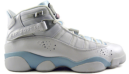 official photos 7933a 5be3c Air Jordan 6 Rings (Six Rings) Girls (Youth) White   White -