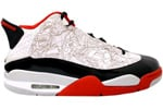 Air Jordan Dub Zero Bulls White / Black - Varsity Red - Neutral Grey