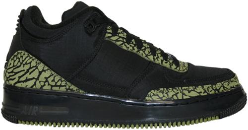 Air Jordan Fusion 3 (AJF 3) Black / Scenery Green
