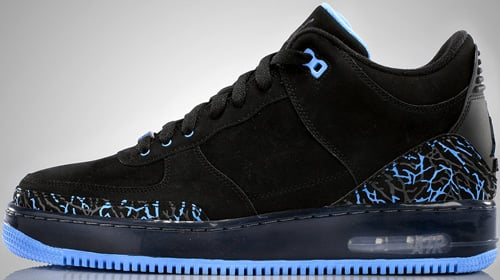 Air Jordan Fusion 3 (AJF 3) Black / University Blue - Anthracite