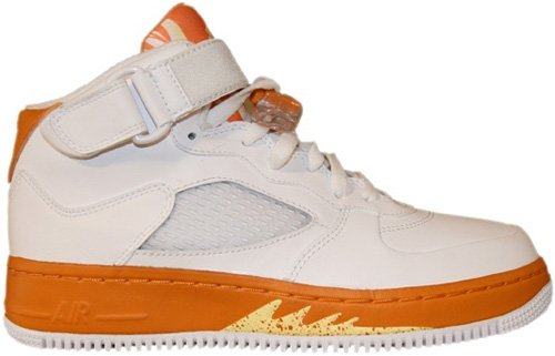 Air Jordan Fusion 5 (AJF 5) Kids (GS) White / Carrot - Lemon