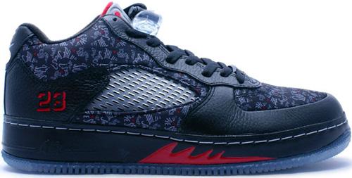 competitive price 649ae 227ad Air Jordan Fusion 5 (AJF 5) Low Black   Black - Varsity Red -