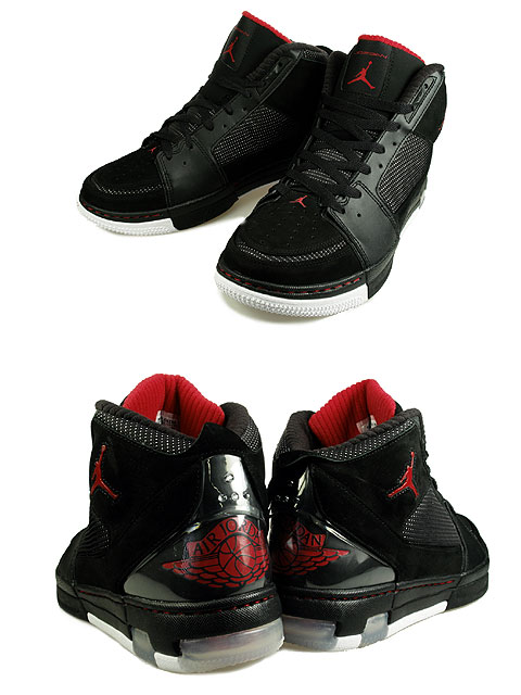 09036977a0a Air Jordan Ol' School II (2) - Black / Varsity Red / White ...
