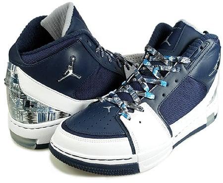 huge discount cb028 12ec0 Air Jordan Ol?? School II 2 White Midnight Navy | Georgetown ...