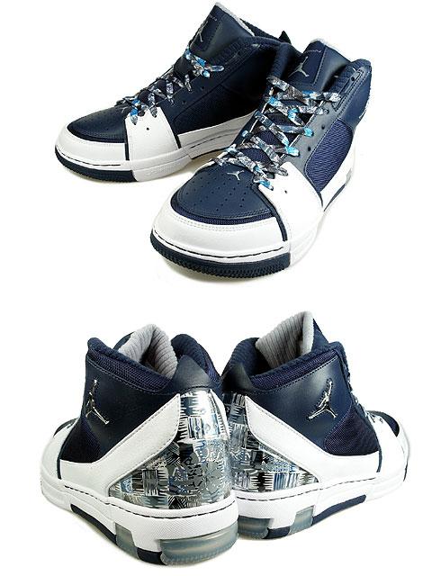 wholesale dealer 8665e f6e24 Air Jordan Ol' School II (2) - White / Midnight Navy ...