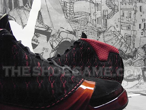 Air Jordan Premier Black Red XX3 - 23