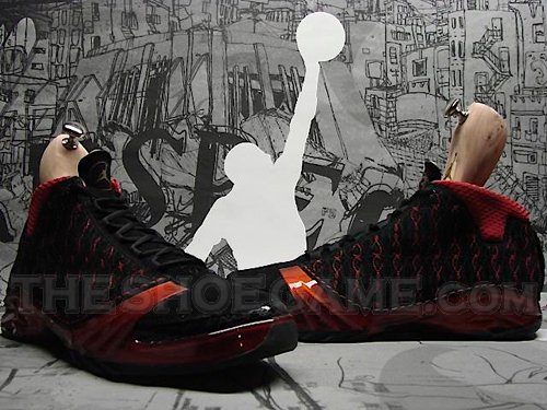 Air Jordan Premier Black Red XX3 - 23