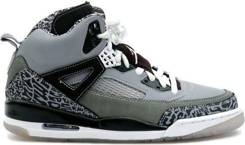 Air Jordan Spizike Cool Grey Stealth / Black - Light Graphite - White