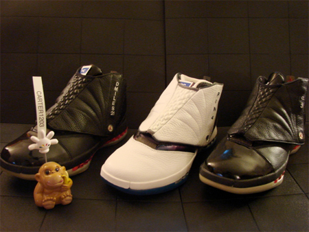 Air Jordan XVI (16) Player Exclusive (PE) – Darius Miles | Michael Finley | Quentin Richardson