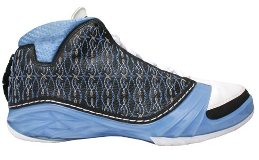 Air Jordan XX3 (23) - UNC - 318376-041 Black/University Blue-White