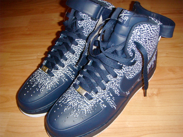 Nike Air Force 1 - One High Blue Cement