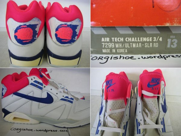 Nike Air Tech Challenge Original (OG) Release