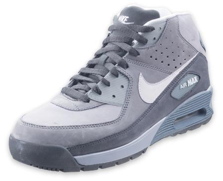 Grey Nike Air Max 90 Boot