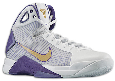 Kobe Bryant\u0027s influence with Nike\u0027s Hyperdunk is mostly seen in the design  aspect of the popular basketball sneaker. Matching the Los Angeles Lakers  home ...