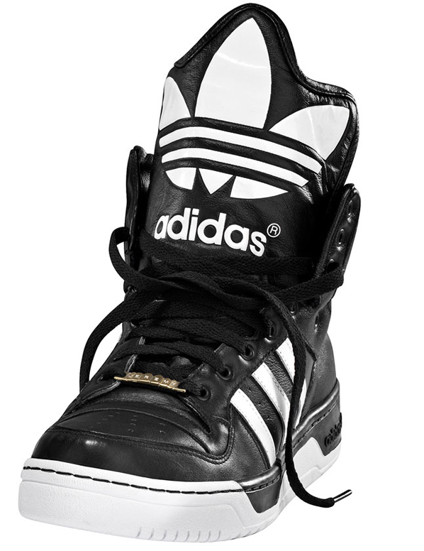 adidas high tops black. Originals JS Logo high-top